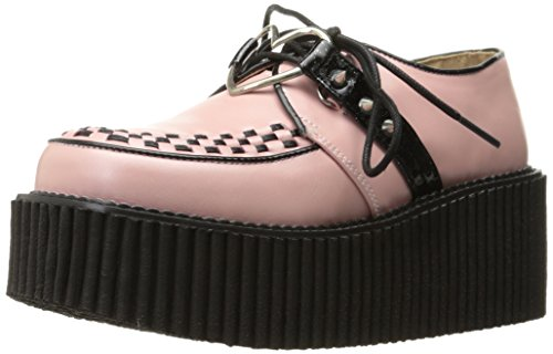 Demonia Women Cre206/Bpvl Fashion Sneaker B. Pink Vegan Leather