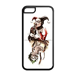 LJF phone case the Case Shop- Customizable Joker and Harley Quinn Limited Edition iphone 4/4s TPU Rubber Protective Hard Back Case Cover Skin , i5cxq-637