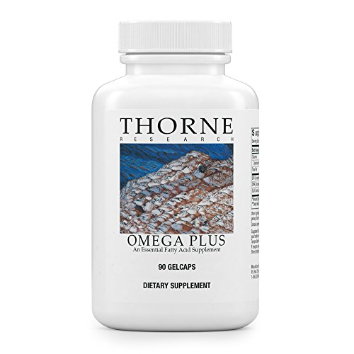 Thorne Research - Omega Plus - An Essential Fatty Acid Supplement with Omega-3 and Omega-6 - EPA, DHA, and GLA - 90 Gelcaps by Thorne Research (Image #9)