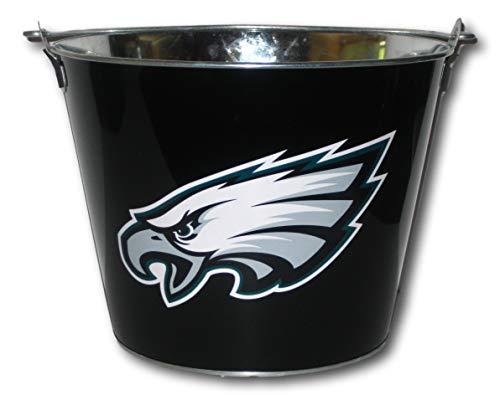 Philadelphia Eagles Logo Black Beer Bucket