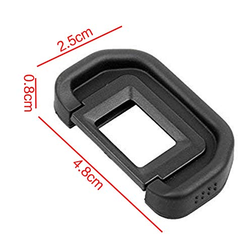 SODIAL Camera Eyepiece Eyecup 18Mm EB Replacement Viewfinder Protector for Canon Eos 80D 70D 60D 77D 50D 5D 5D Mark Ii 6D 6D Mark Ii 40D 30D 20D 20Da 10D 60Da A2 A2E D30 D60 by SODIAL (Image #6)