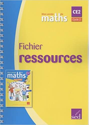 Amazon Fr Mathematiques Ce2 Cycle 2 Mon Annee De Maths