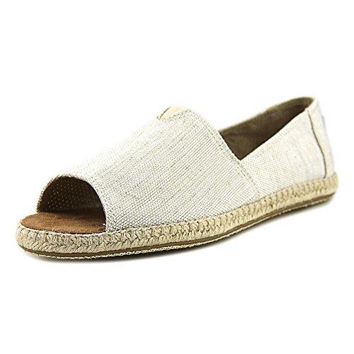TOMS Women's Alpargata Open Toe Natural Yarn-Dye Sandal ()
