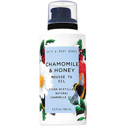 Bath and Body Works Chamomile & Honey Mousse to Oil 5.3oz
