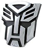 3D Transformers Autobots Emblem Car Badge - Chrome Finish Decal