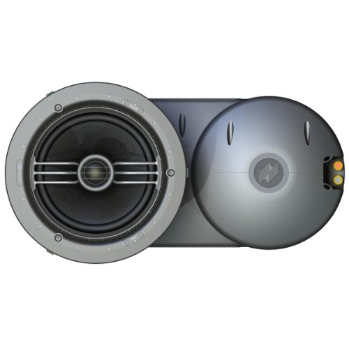 """Price comparison product image Niles RWC7.3 7"""" LCR Rear Wave Control Ceiling-Mount Loudspeaker - Each (White)"""