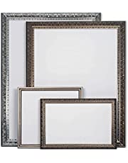 Wooden Ornate Silver, Classic Silver, Photo Frame, A4,A3,A2,A1 and A0 Size, 8 Styles of Frame