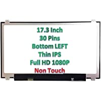 Vtekscreen HP 17-W202LA 17-W205NM 17.3 FHD LED LCD Screen