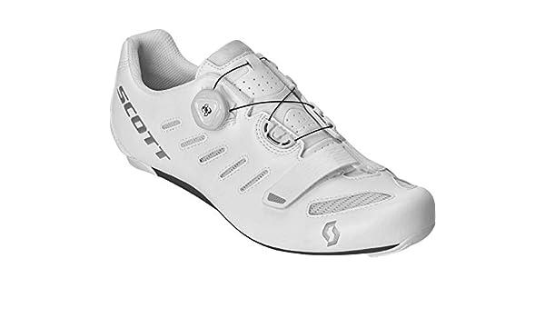 SCOTT 270594 - Zapatillas de Ciclismo, Unisex Adulto, Blanco y Plateado, 41: Amazon.es: Deportes y aire libre