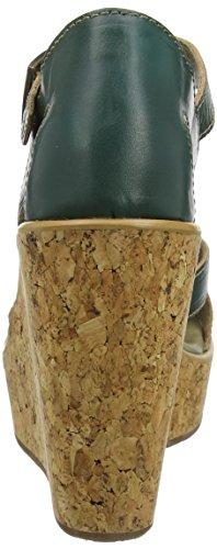 Fly London P143931003, Zapatos de Cuñas Mujer Verde (Nilegreen 003)