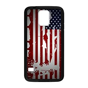 Image The Walking Deadl American Flag Custom Case Shell Cover for Samsung Galaxy Note 3 (Laser Technology)