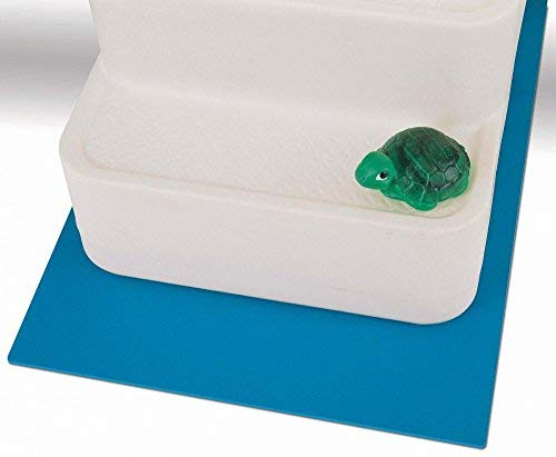 - 4ft x 4ft 8in Swimming Pool Step Ladder Mat or Step Pad - Liner Protection!