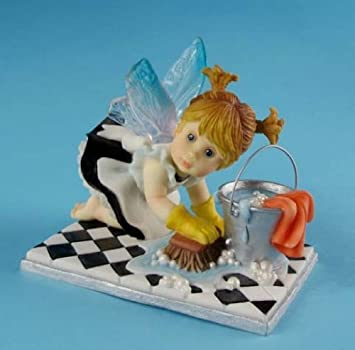 Amazon.com: My Little Kitchen Fairies from Enesco Little Scrubber ...