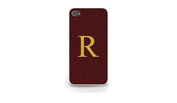 Ron Weasley R Sweater iPhone 4/4S funda - blanco: Amazon.es ...