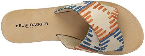 Sandal Wheat Dagger Kelsi Crown Brooklyn Women's Flat 84XpwApq