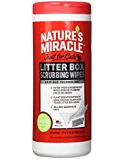 Nature's Miracle Just for Cats Litter Box Scrubbing Wipes, (NM-5574)