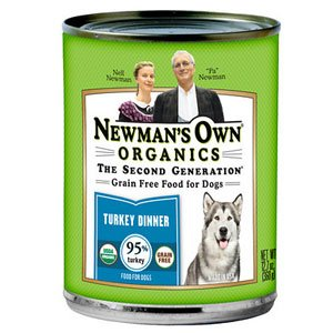 Newman's Own Organics Turkey Grain Free Canned Dog Food, 12.7 GR