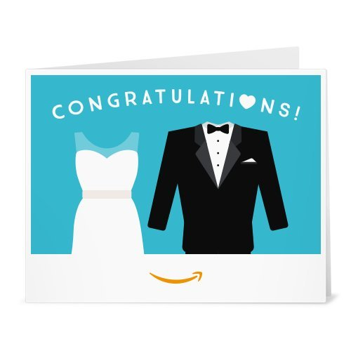 Amazon Gift Card – Print – Wedding Dress and Tuxedo