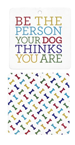 About Face Designs Sunnyside Up Air Freshener - Be the person your dog thinks you are by About Face Designs