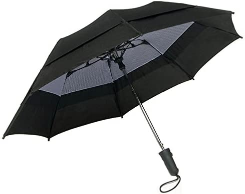 Windbrella 44 Inch Georgetown Folder Vented Mesh Double Canopy Umbrella