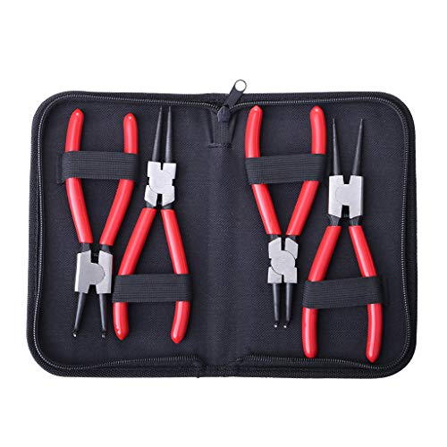 (Snap Ring Pliers Set,Lucoo Professional 7
