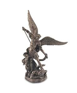 Signes Grimalt - Figura de Arcangel Miguel, resina, 11 cm