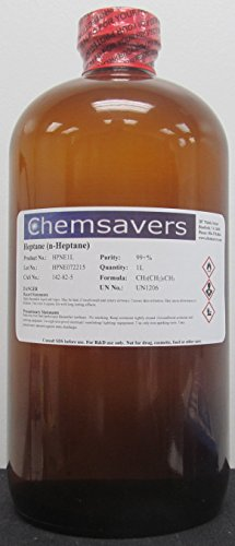 Heptane (n-Heptane), 99+%, 1L (32oz)