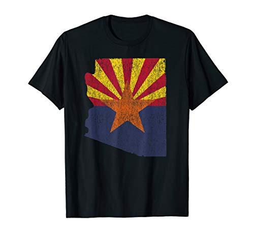 Retro Arizona Flag Shirt - AZ t - Womens T-shirt Arizona
