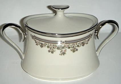 Amazon.com   Lenox Lace Point Sugar Bowl With Lid: Sugar Bowls
