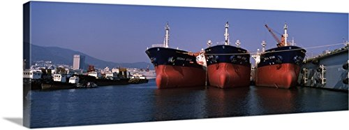 hanjin-heavy-industries-and-construction-shipyard-busan-south-korea-gallery-wrapped-canvas