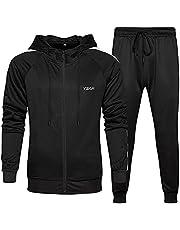 D-Rings Joggingpak voor heren, pullover, trekkoord, hoodie, trainingspak, sportpak, voetbal, sportbroek, hoodie, broek voor gym, warm trainingspak, lange mouwen, top blouse en lange broek