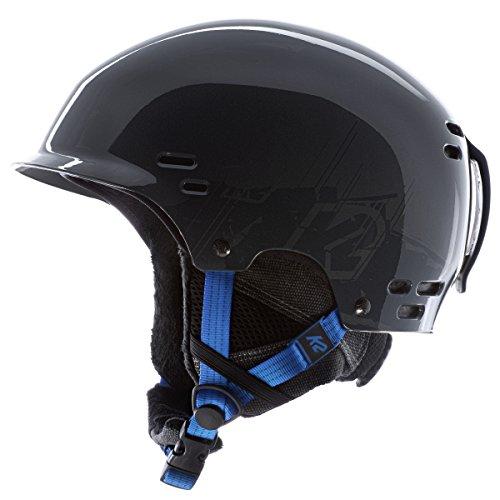 (K2 Thrive Ski Helmet, Gray, Small)