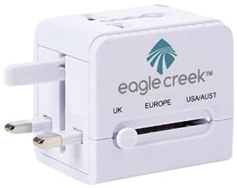 Eagle Creek USB World Travel Adapter, White, One Size