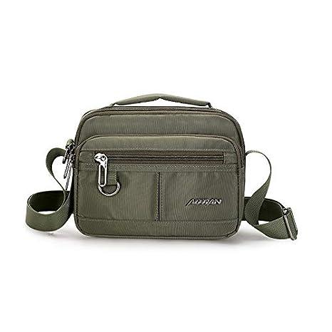 Amazon.com: Fashion Men Handbag Waterproof Nylon Messenger ...