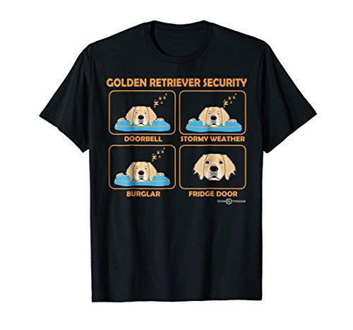 Golden Retriever Shirt | Golden Retriever Security