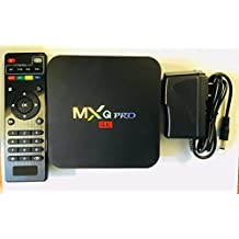 [2018 Version]Streaming Player MXQ Pro HDTV Box UHD 4K Android 6.0 64 Bit Amlogic S905X Quad Core with Mini Wireless Keyboard
