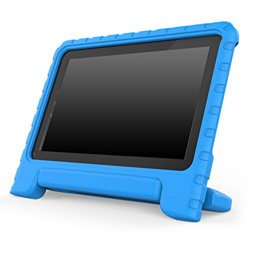 MoKo Dragon Touch A1 / A1X / A1X Plus Case - Kids Shock Proof Convertible Handle Light Weight Super Protective Stand Cover Case for Dragon Touch A1 / A1X / A1X Plus 10.1 Inch 2015 Tablet, BLUE