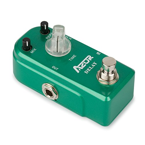 AZOR Delay Guitar Effect Pedal True Bypass Super Mini by AZOR