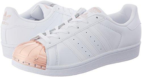 Metal ftwwht coppmt Sneaker ftwwht Adidas Bianco 80's Donna Superstar Y8w7xEqv