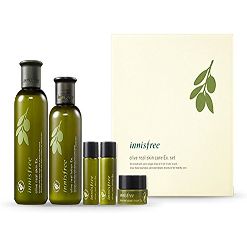 [Innisfree] Olive Real Special Care Ex. Set 5 Item