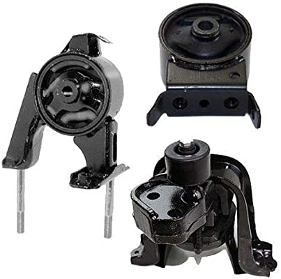 Engine Motor Transmission Mount Kit Set of 3 for Toyota Scion Echo xA xB Auto AT