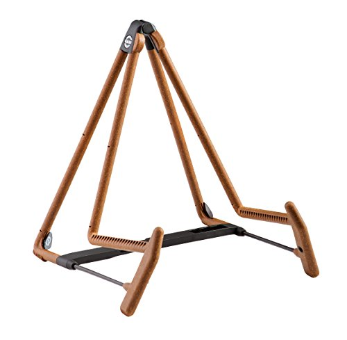 (K&M Stands 17580C Heli 2 Acoustic Guitar Stand, Cork)