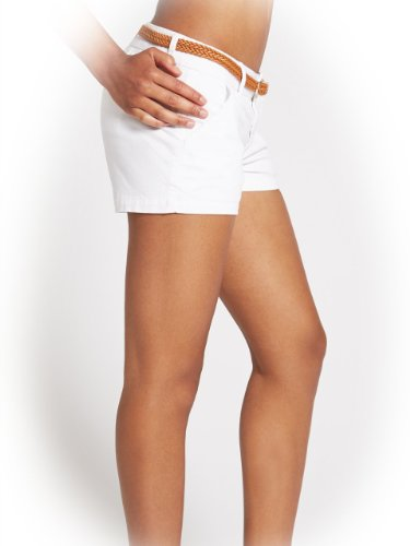 G by GUESS Women's Maya Shorts, TRUE WHITE (25)