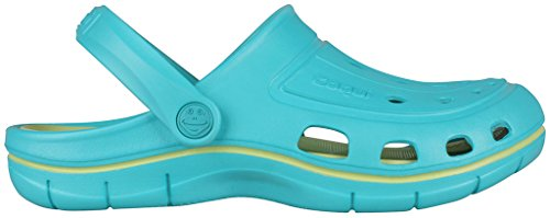 Turquoise Clog Coqui Jumper Lime Light EznHwPq