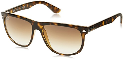 Ray-Ban RB4147 - Light Havana Frame Crystal Brown Gradient Lenses 56mm - Ban Ray Boyfriend