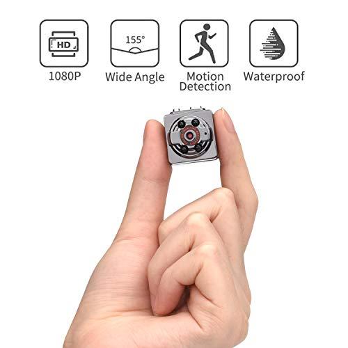 [Upgraded] Hidden Camera Full HD 1080p Security Sport Camera 4k Waterproof(Sq8 Spy Wireless Mini Dv...