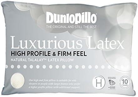 Dunlopillo Luxurious Latex High Profile /& Firm Feel Pillow