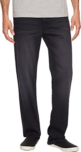 Bleached Straight Leg Jean (Calvin Klein Jeans Men's Straight Leg Jean Ridge Brown Black Wash, Ridge Brown Bleached A, 33W 32L)