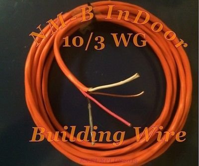 10-3 Wg Wire Nm-B ( 35 Feet ) Residential Building Wire