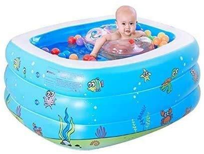 FEE-ZC Piscina Inflable portátil de Verano – Piscina Inflable para el hogar del bebé Niños pequeños Baño para bebés…